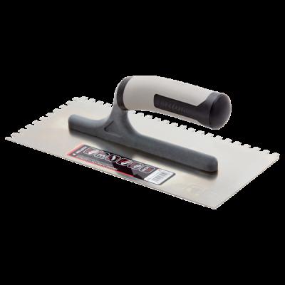 Bellota 10mm Bi-material (open handle) Square Notched Trowel