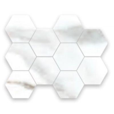 Alsacia Hexagono Mosaic 21 x 26cm