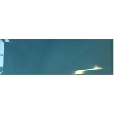 Aqua Blue Bevelled 10x30cm