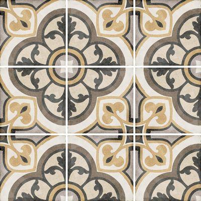 Art Nouveau Majestic Colour 20 x 20cm