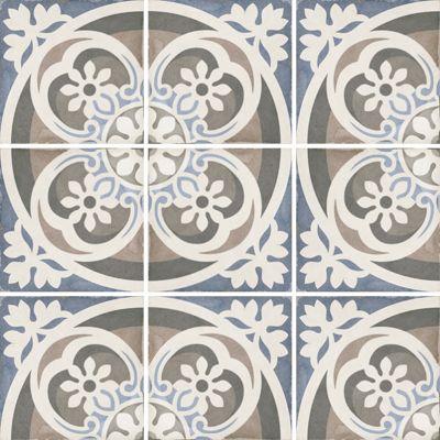 Art Nouveau Music Hall 20 x 20cm