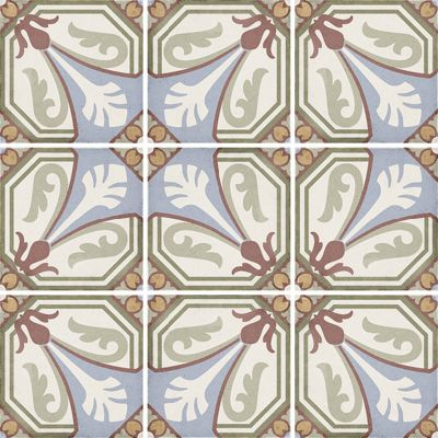 Art Nouveau Viena Colour 20 x 20cm