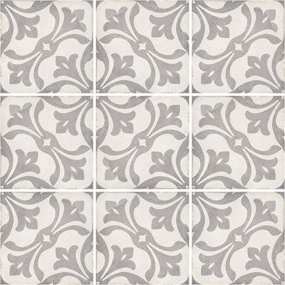 Art Nouveau La Rambla Grey 20 x 20cm
