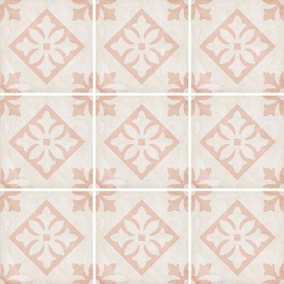 Art Nouveau Padua Pink 20 x 20cm