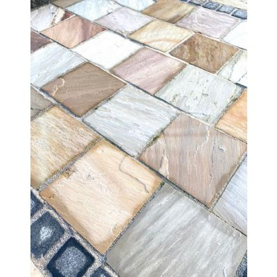 Buff Sandstone Paver 30 x 30cm