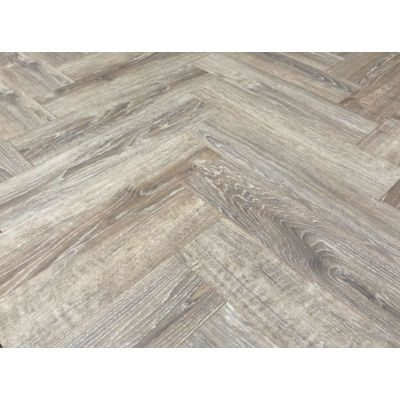 Burgundy Oak Herringbone Laminate 12mm
