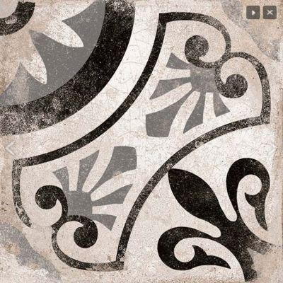 Cagliari Gris Pattern Tile 22.5 x 22.5cm