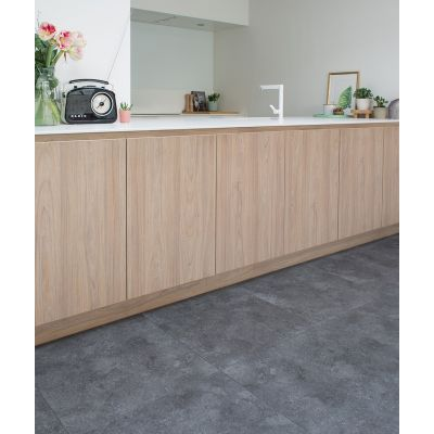 Caldera Tile Basalt Luxury Parquet Vinyl 61.5 x 61.5cm
