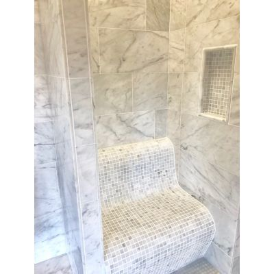 Cararra Bianco Marble Honed 60x30cm (18mm Thickness)