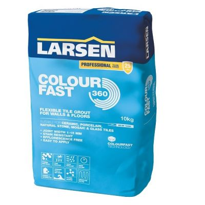Black Colourfast 360 Grout Larsen 3kg