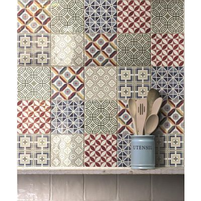 Deco Country Patchwork 13.2x13.2cm