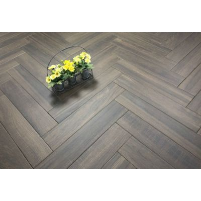 Cracovia Wengue Wood Effect Herringbone