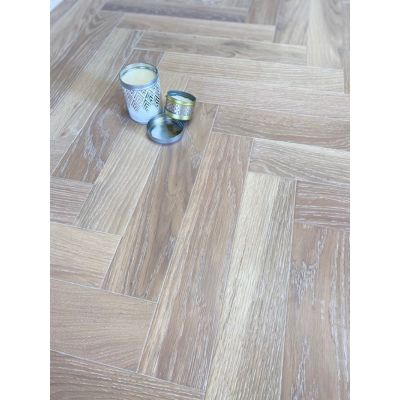Frosty Oak Herringbone