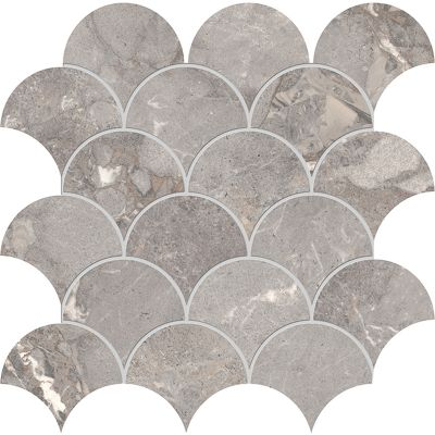 Golden Age Grey Shell Mosaic 30x30cm
