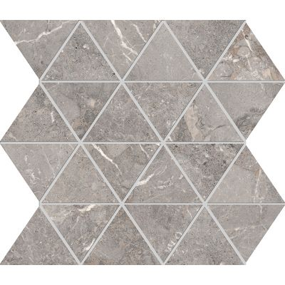 Golden Age Grey Triangolo Mosaic 30x30cm