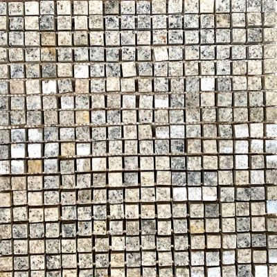Kashmir White Granite Mosaic 30 x 30cm