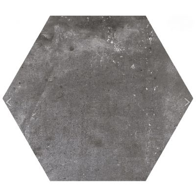 London Hex Antracita (Plain) 22.5 x 25.9cm