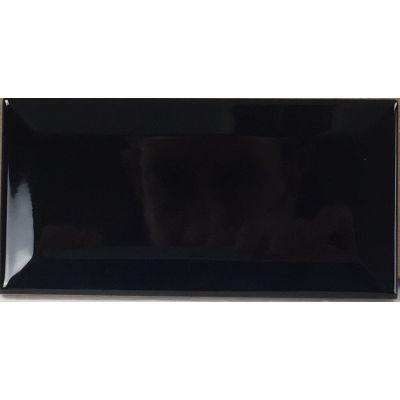 Metro Black 15x7.5cm