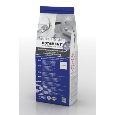 Silver Grey Flex Grout Multifuge Fine Botament 4kgs