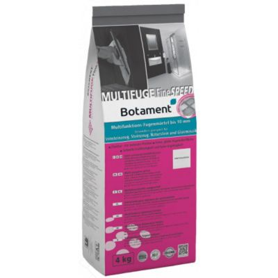 Concrete Grey Multifuge Fine Speed Grout Botament 4kg