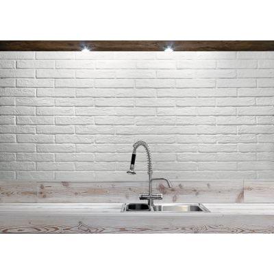 New York White Brick Tile