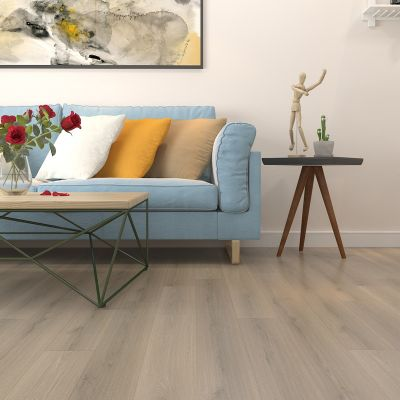 Oatmeal Oak Gris Laminate Waterproof 12mm