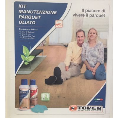 Maintenance Kit for Oiled Wood Floors