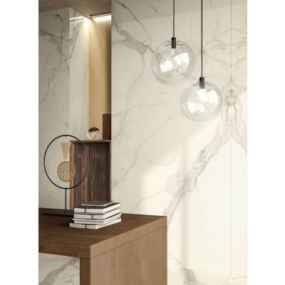 Statuario White 120x260cm (Lux Glossy Finish)
