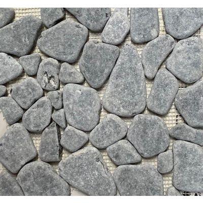 Pebbles Mosaic - Blue Stone 26 x 27cm