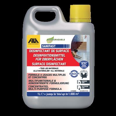Fila Sanifast Surface Disinfectant 1ltr
