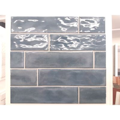 Splendours Blue Night (Crackle Glaze) 7.5 x 30cm
