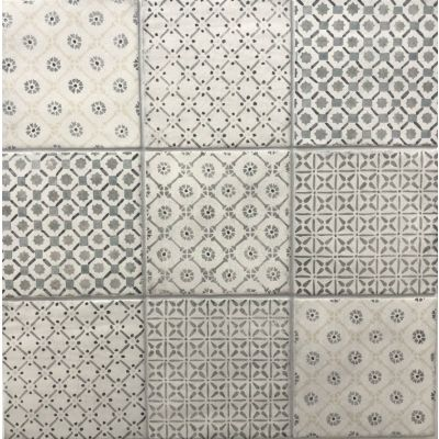 Vestige Spring Cool Grey (mixed patterns) 13.2 x 13.2cm