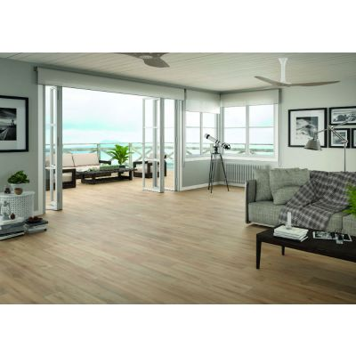Rigel Walnut Wood Effect Tile 23x120cm