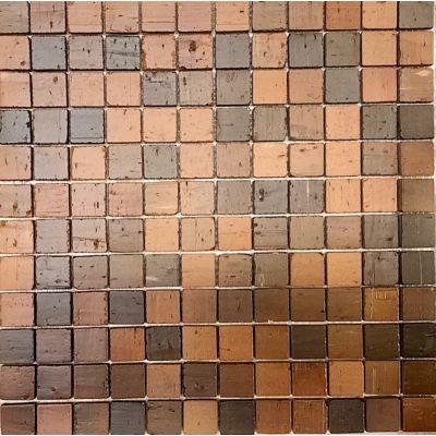 Terracotta Washed Stone Mosaic 30 x 30cm