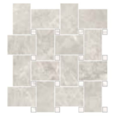 Trumari Silver Maxi Mosaic 30 x 30cm