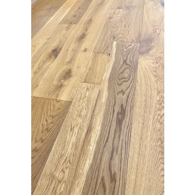 Tudor Oak Mixed Widths